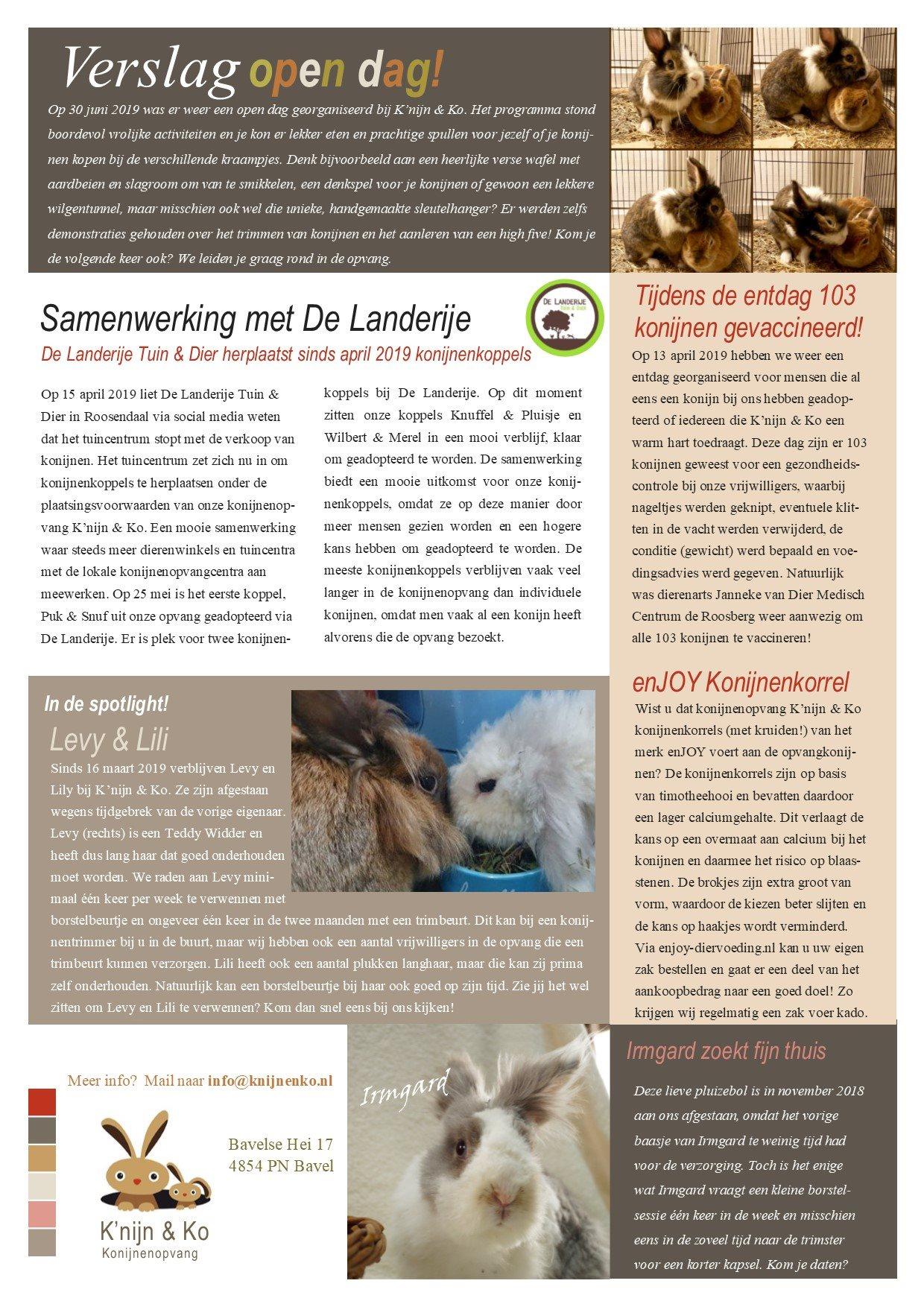 nieuwsbrief blz. 2